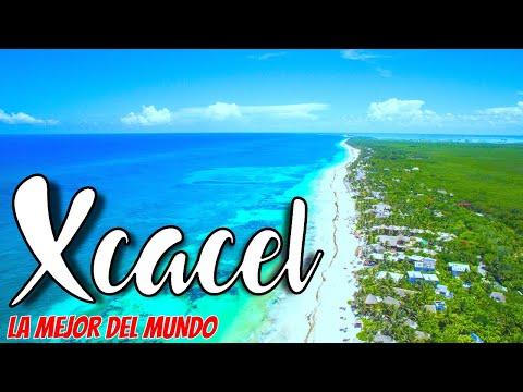 🔴 Esta es MEJOR playa del MUNDO CANCUN 2020 😯 | Xcacel en Tulum - Riviera Maya (Todo es GRATIS 😲)