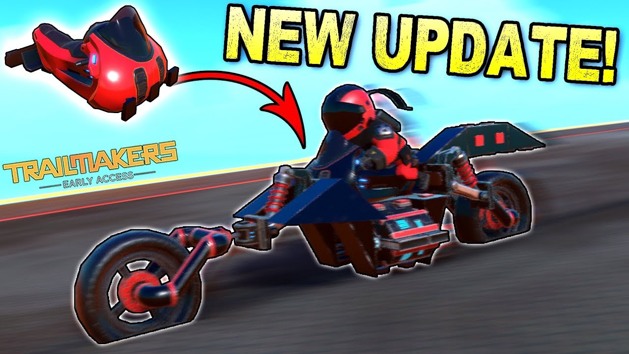 They Gave Us a MOTORCYCLE SEAT and Other New Parts!- Trailmakers Early  Access Gameplay