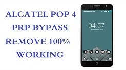 Alcatel FRP bypass 6 0 1/7 0 new method 2017 Alcatel Pop 4 5051x