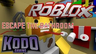 WORLDS BEST OBBYERS AT IT AGAIN! | Roblox Escape the Bathroom