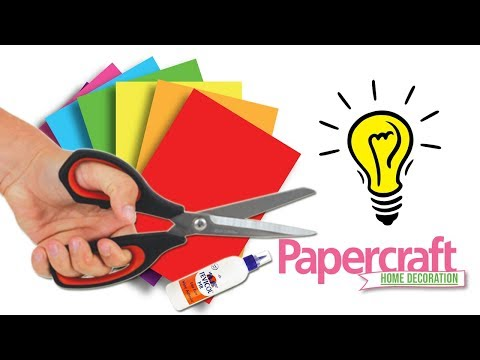 Easy paper craft wall decor diy idea || Paper craft ideas for wall decoration || Home Decor
