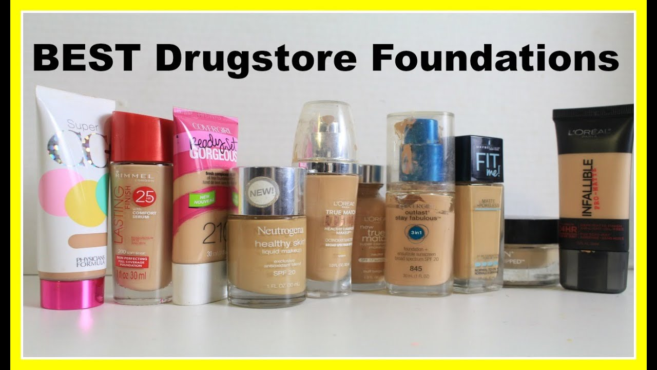 Best Drugstore Foundation