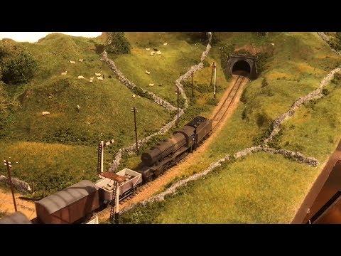 Yorkshire Dales Model Railway - Loft Layout