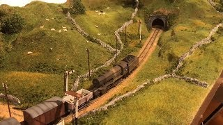 Yorkshire Dales Model Railway - Loft Layout