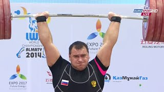 2014 World Weightlifting Championships, Men +105 kg (C&J) \ Тяжелая Атлетика. Чемпионат Мира