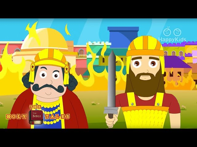 Nehemiah Rebuilds Jerusalem - Bible Stories For Children