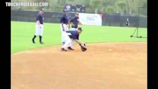 Derek Jeter Fielding Mechanics