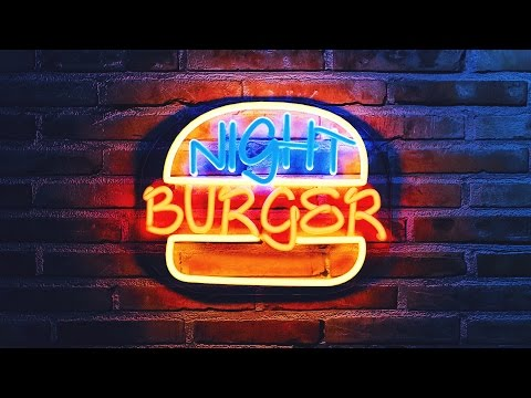 How to create neon lights in Blender