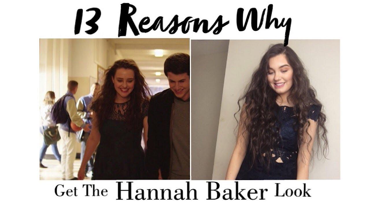 13 Reasons Why Hannah Baker Makeup And Hair Tutorial Halloween Look Youtube