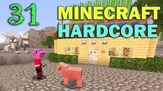 ч.31 - Безумная Миникошка (Конец) - Minecraft Хардкорное выживание