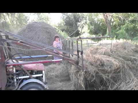 видео: Самоделка или как ОКА превращается в трактор...