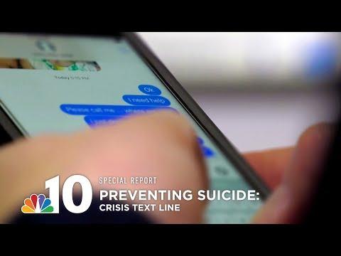 Preventing Suicide: Crisis Text Line