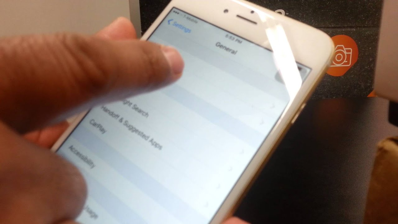 How to Quickly find the IMEI on iphone 6 Plus (Shortcut)