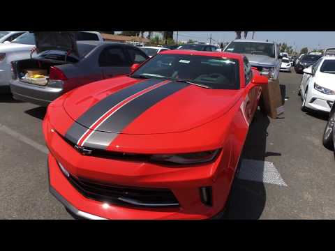 How To Install Factory Camaro Stripes
