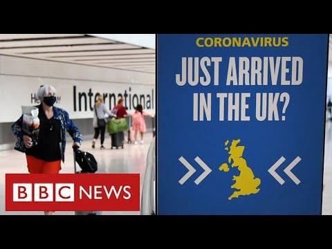 UK closes travel corridors as fears grow over new coronavirus variants – BBC News