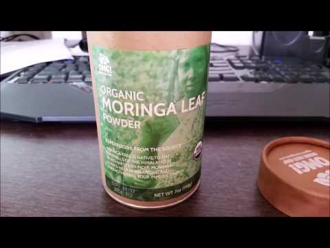 OMG Moringa powder review