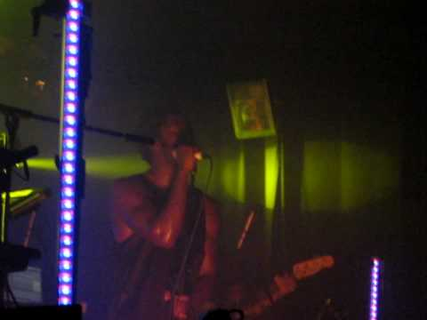 Kele - Your Visits Are Getting Shorter (Bloc Party)  live at Birmingham O2 Academy 2 14/07/10