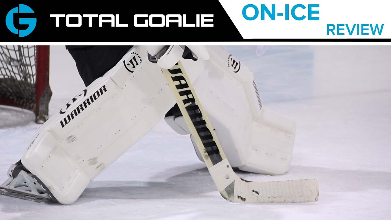 6086efd539a Warrior Ritual G3 Pro Leg Pads    On-Ice Review - YouTube