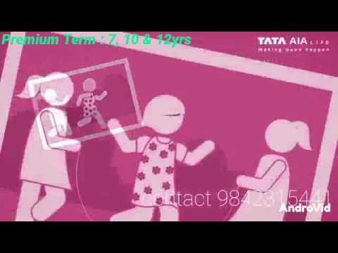 TATA AIA LIFE INSURANCE - YouTube