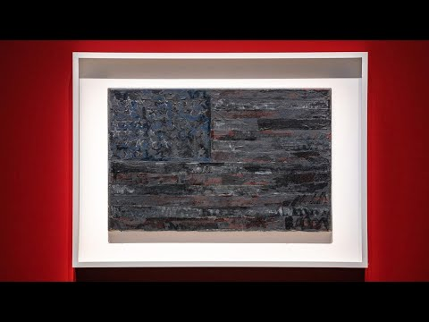 Jasper Johns' Flag and his Fascination with the Familiar