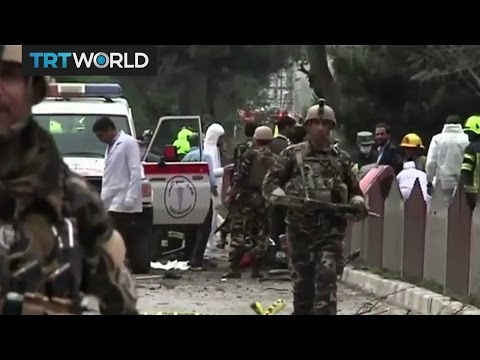 Bomb blast targets foreign forces in Kabul