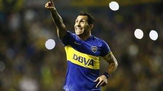 Gol de Carlos Tevez - Boca 4-2 Deportivo Cali - Grupo 3 - Copa Libertadores 2016