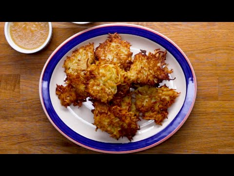 Nina Jackson - Recipe: Potato Latkes (Pancakes)