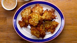 Potato Latkes (Pancakes) That Make The Perfect Appetizer • Tasty