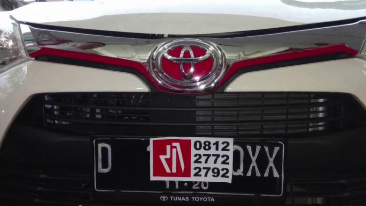Cutting Sticker Grand New Avanza Agya Trd S Stiker Mobil Bandung Mangele Pro Youtube