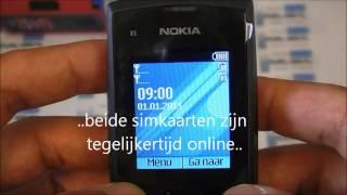Nokia X1-01 dual-sim phone unboxing + quick tour of the menu