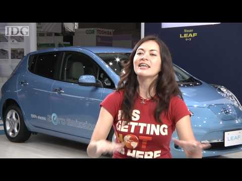 Leilani Münter, NASCAR driver and environmentalist, on electric vehicles