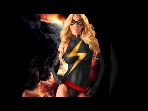 Amazing Body Painting Superheroes Babes