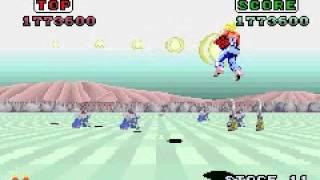Space Harrier / Sega Arcade Gallery Ver. / GBA
