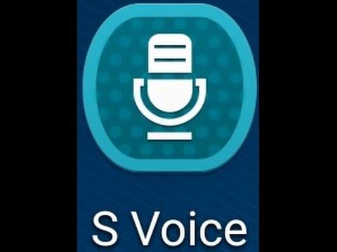 S voice, أداة الأوامر الصوتية على الأندرويد.