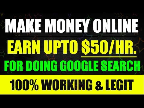 Make Money Online - Earn $50/Hr. For Just Using Google Search. 100% Legit Job from LEAPFORCE