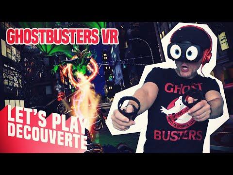 VILLE FANTÔME ?! Ghostbusters VR - Let's Play Découverte