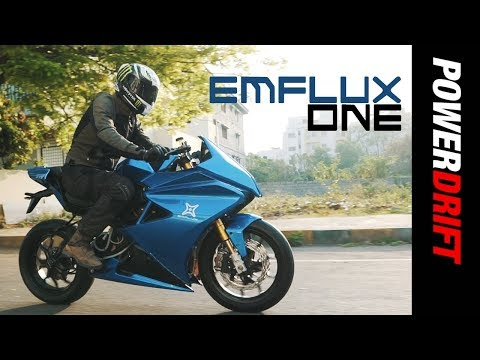 Emflux One : India's First Electric Superbike : PowerDrift