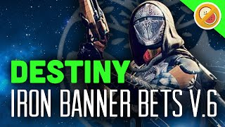 Destiny Iron Banner Bets #6 - The Dream Team (The Taken King) Funny Gaming Moments