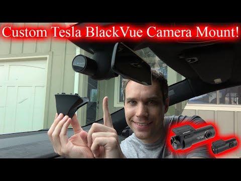 Sleek BlackVue Dashcam Mount!
