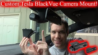 Sleek BlackVue Dashcam Mount!