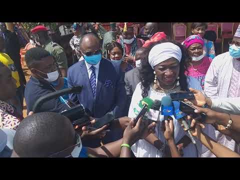 Culte oeucumenique de Bassamba pour c' Ketcha Courtes