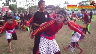 Janturan Kolaborasi 3 Group Festival Ebeg Banyumasan Di Lapangan Pabuaran ~ Purw