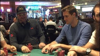 Phil Hellmuth Check Raises Me And I Have Aces - Very Special 30th Episode Of The Poker Vlog!!