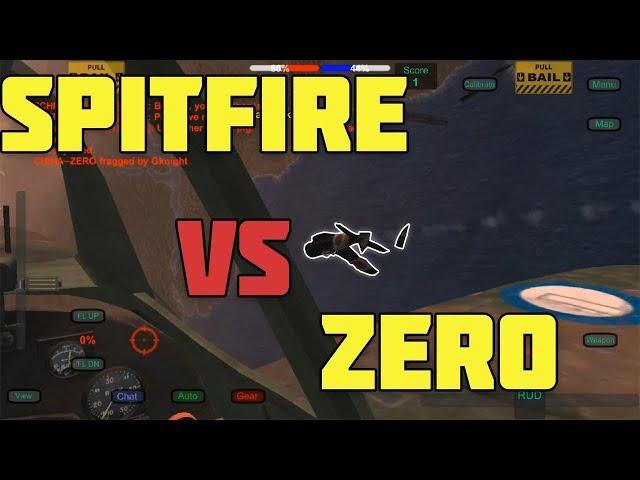 Wings of Duty SPITFIRE VS ZEROS!