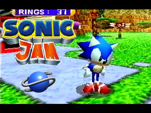 Sonic Jam playthrough (SEGA Saturn) - YouTube