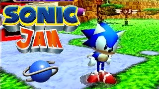 Sonic Jam playthrough (SEGA Saturn)
