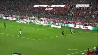 Highlights AC Milan vs Bayern Munich - 26/07/2011