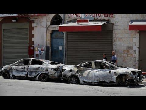 مواجهاتٌ بين العرب واليهود في اللدّ وسط إسرائيل تضعُ المدينة على شفير أزمة خطيرة…  - 18:58-2021 / 5 / 13