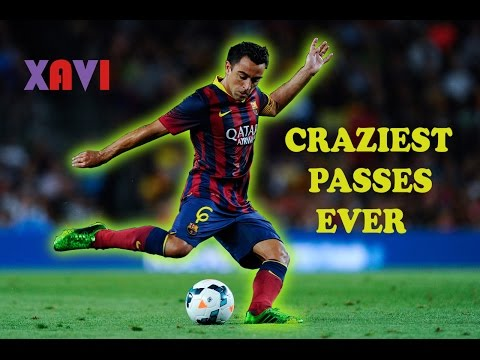 Xavi Hernandez ● Top 10 Craziest Passes Ever ★ FC Barcelona [HD]