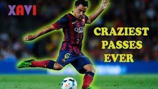 Xavi Hernandez ● Top 10 Craziest Passes Ever ★ FC Barcelona [HD]